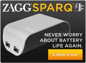 ZAGGsparq - Endless power to go.